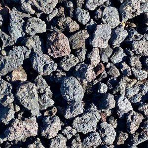 Large Black Lava Rock