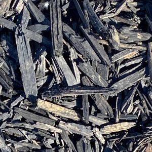 aged mulch