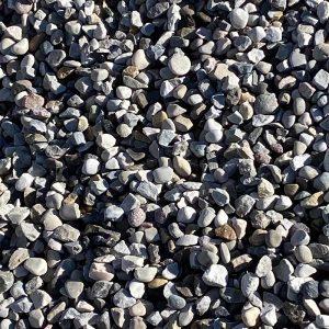 "3/4"" washed rock"